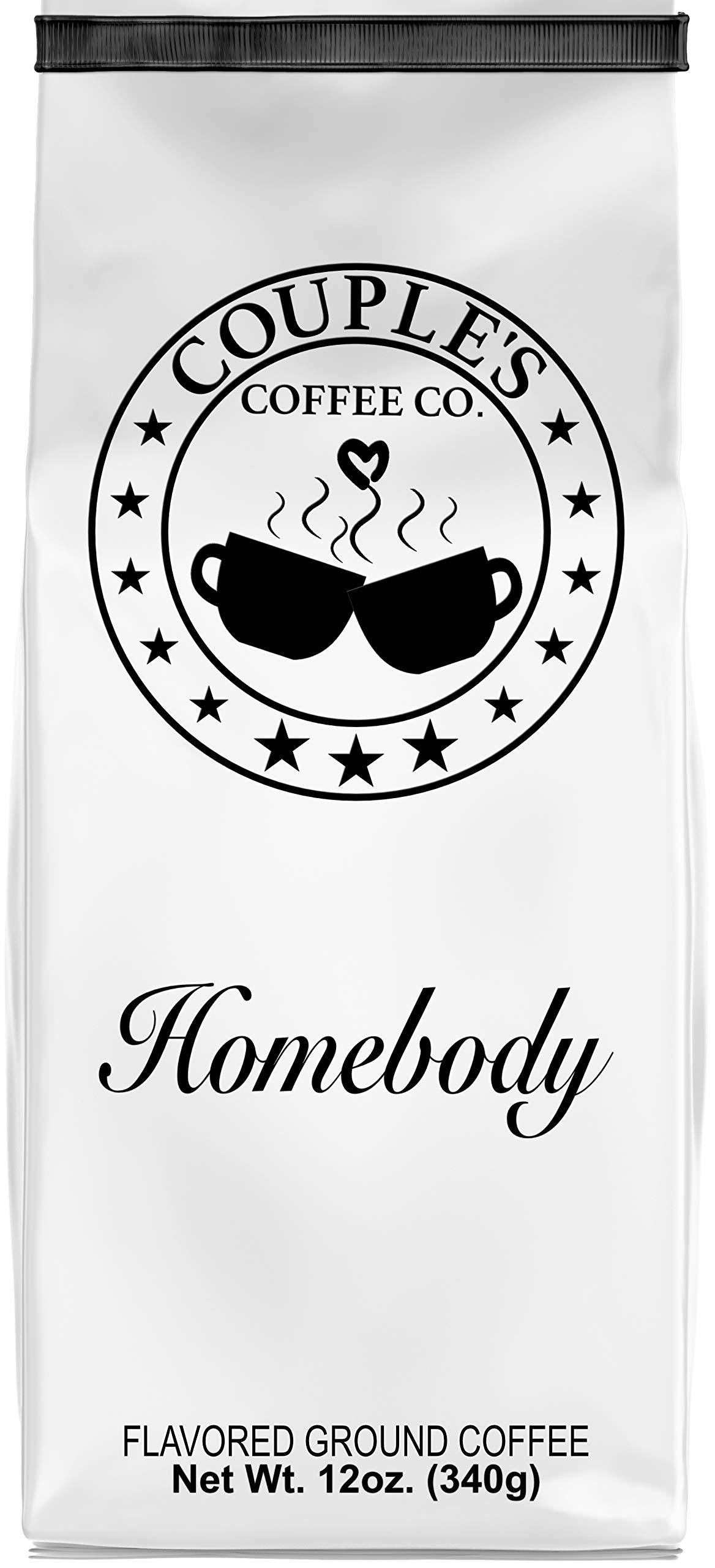 Couple's Coffee Co. Ground Coffee,''Homebody'', 12 oz