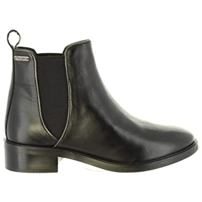 d158ffa988d Pepe Jeans Bottines pour Femme PLS50332 Devon 999 Black  Amazon.fr ...