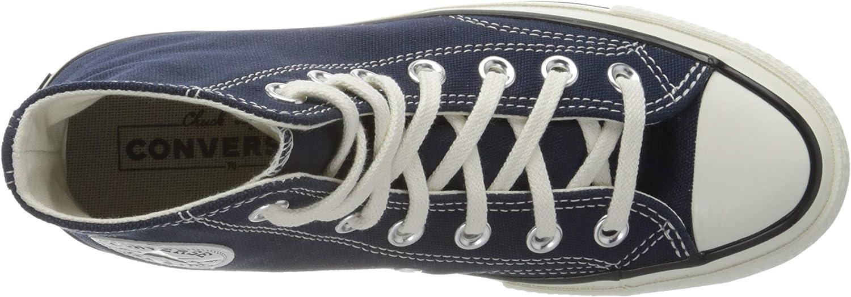 Converse Men's Chuck Taylor All Star '70s High Top Sneakers Obsidian / Egret-black