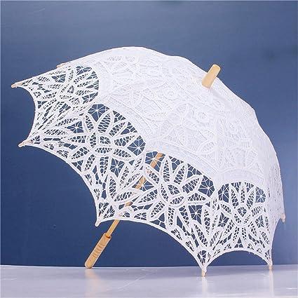 King DO WAY paraguas paraguas de encaje sombrilla para novia decoración Boda parte accesorio de fotografía