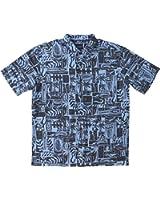 O'Neill Mens Jack O'Neill Driftwood Button Up Short-Sleeve Shirt