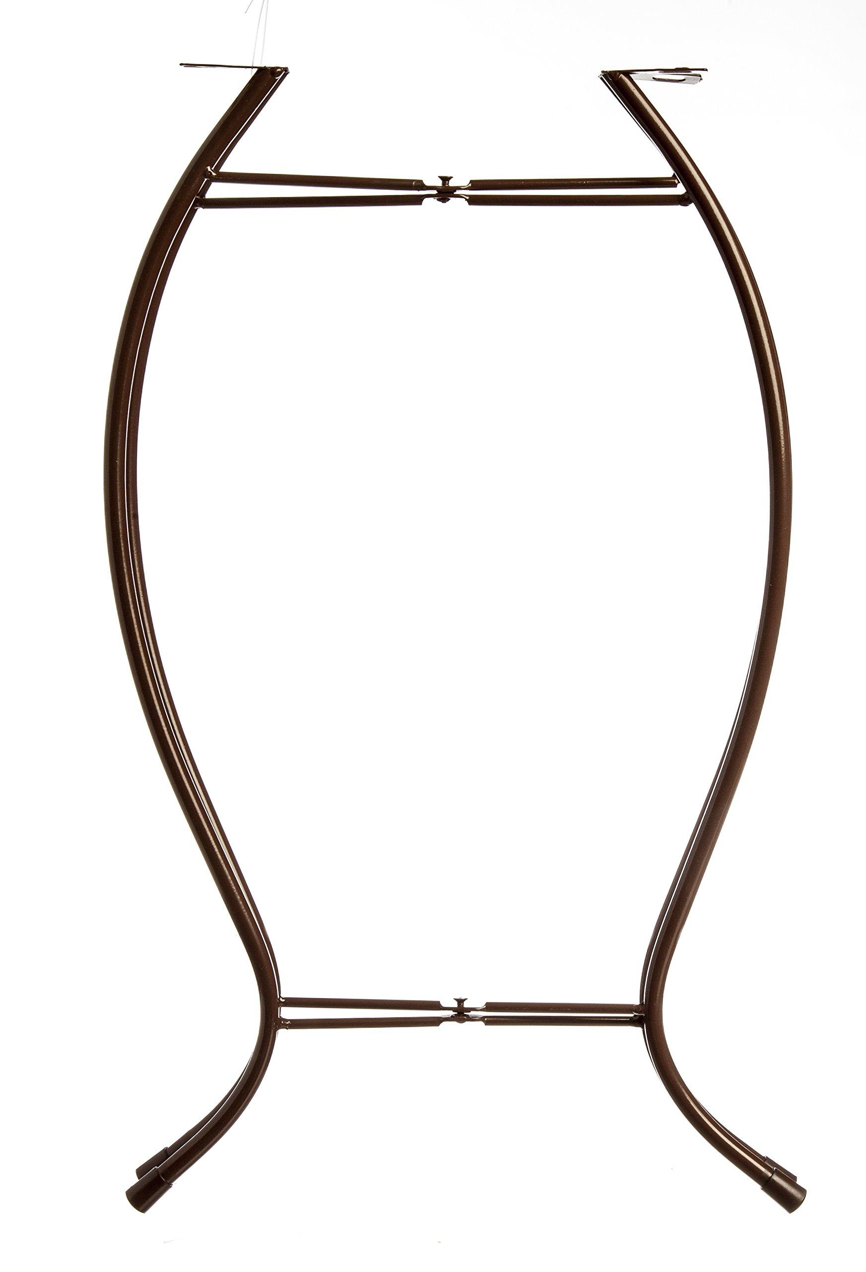 Evergreen Garden Outdoor-Safe Round Summer Splash Glass and Metal Side Table - 12''L x 12''W x 22''H