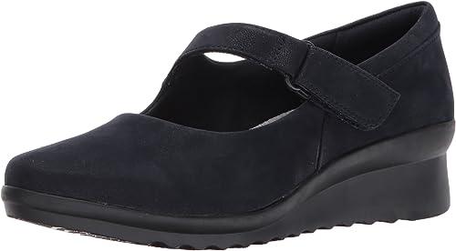 Mancha construir Lágrimas  Clarks Women's Caddell Yale Wedge Pump: Amazon.co.uk: Shoes & Bags