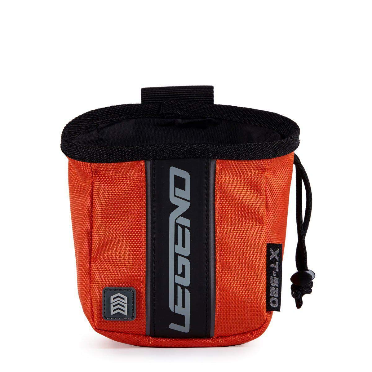 Legend Archery Release Aids Pouch Bag with Belt Loop Draw String and Zipped Pocket XT520 (Orange) by Legend