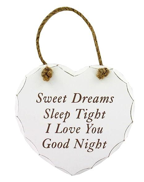 Sweet Dreams Sleep Tight I Love You Good Night Gw90 Hanging