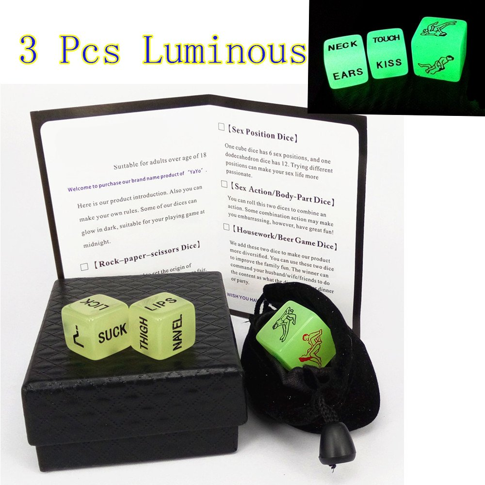YaYo Romance Toy Love Dice Sexy Game Funny Adult Toys, Sports & Outdoors -  Amazon Canada