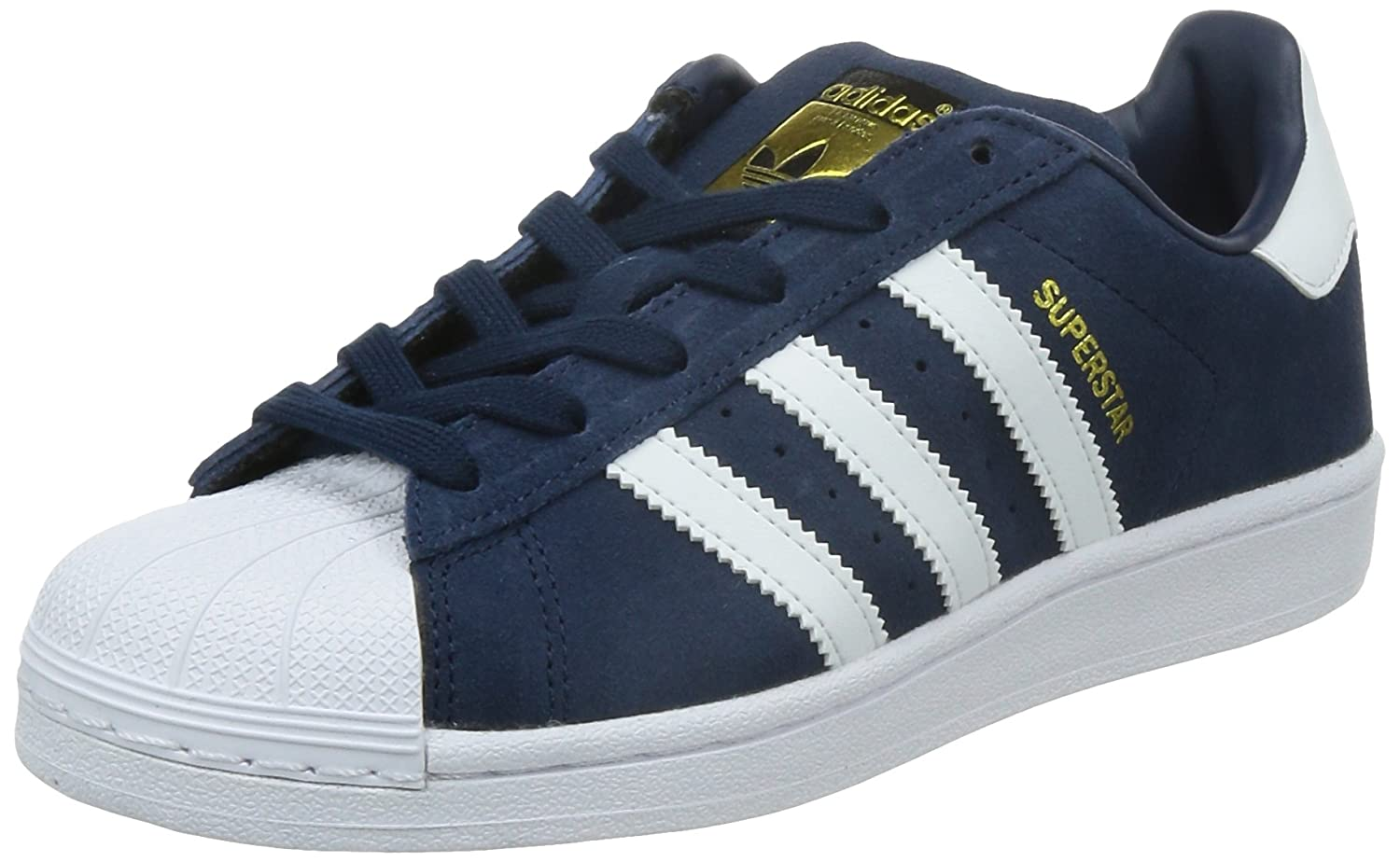 adidas Superstar J, Collegiate Navy/Ftwr White/Ftwr White, 5: Amazon.co.uk:  Shoes \u0026 Bags