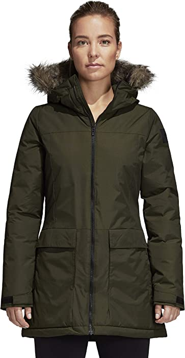 : adidas outdoor Women's Xploric Parka Night Cargo