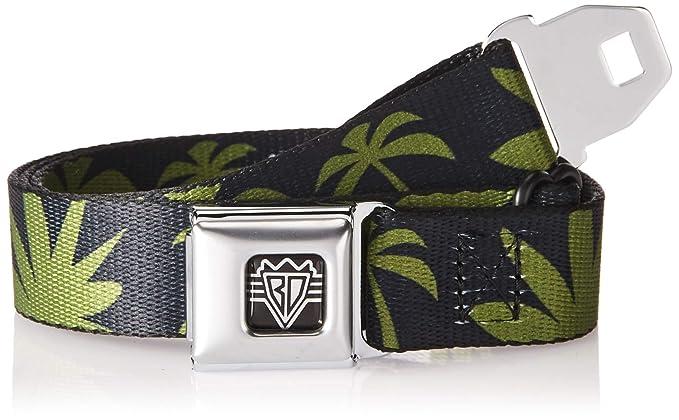 0e74c818 Amazon.com: Buckle-Down Men's Seatbelt Belt Palm Trees Kids ...