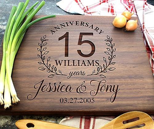 Engagement Engraved Cutting Board Housewarming Gift Wedding Gift Anniversary 03 Custom Cutting Board Personalized Cutting Board