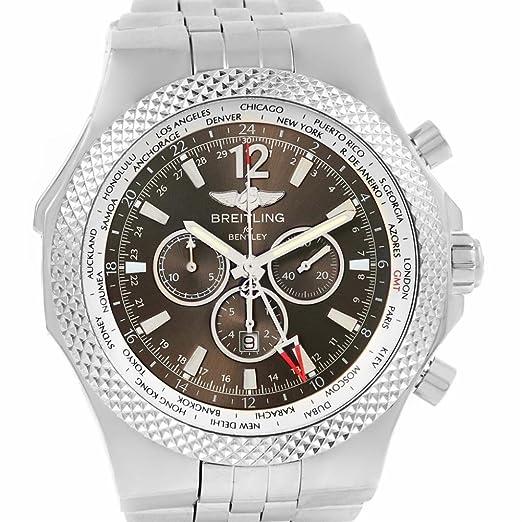 Breitling Bentley automatic-self-wind Mens Reloj a47362 (Certificado) de segunda mano: Breitling: Amazon.es: Relojes
