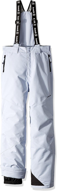 Kamik Winter Apparel Girls Rebel Solid Suspender Pant