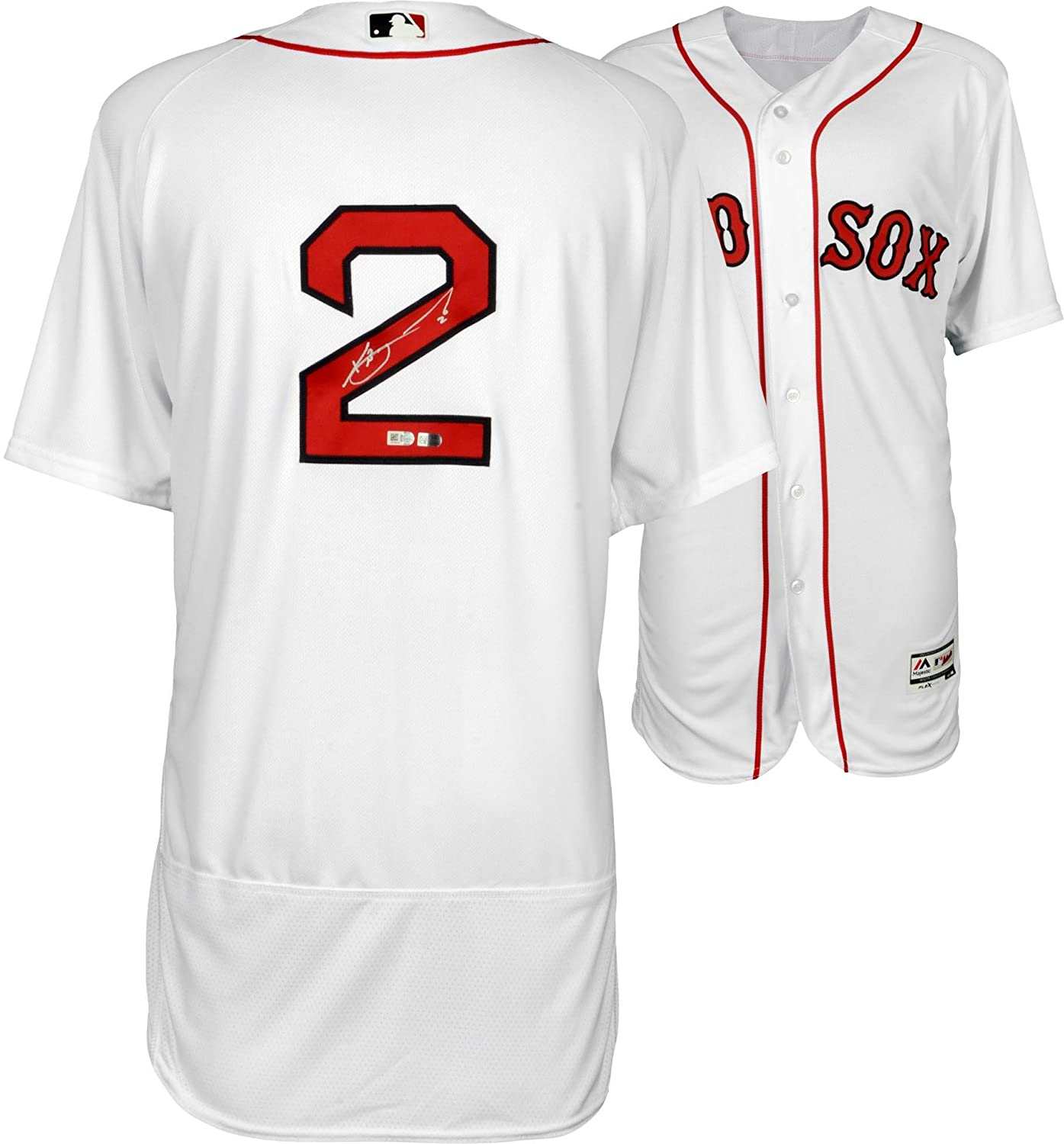 226db390e Xander Bogaerts Boston Red Sox Autographed White Authentic Jersey -  Fanatics Authentic Certified - Autographed MLB Jerseys at Amazon s Sports  Collectibles ...