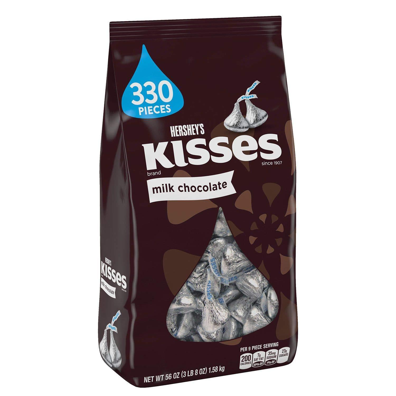 Hershey's Kisses - Milk Chocolate: 330 Pieces