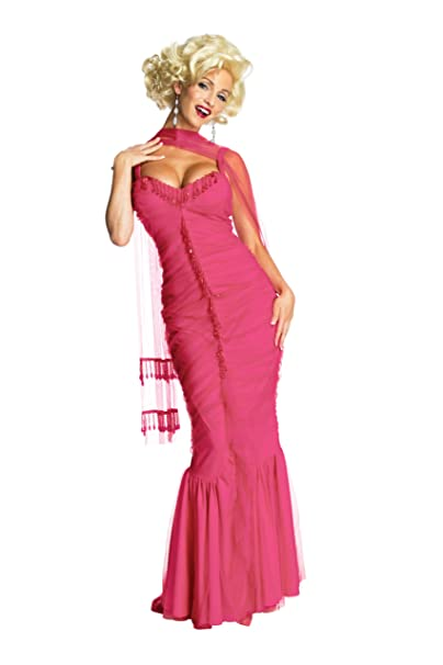 9d34f4784d30e Amazon.com  Marilyn Monroe Secret Wishes Dress  Clothing