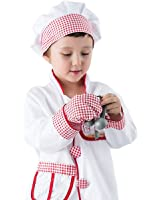 iPlay, iLearn Chef Role Play Costume Set (3-6 Years)