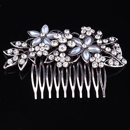 Hair Accessories Wedding Jewelry Prom,Wedding Comb Pin with Rhinestones
