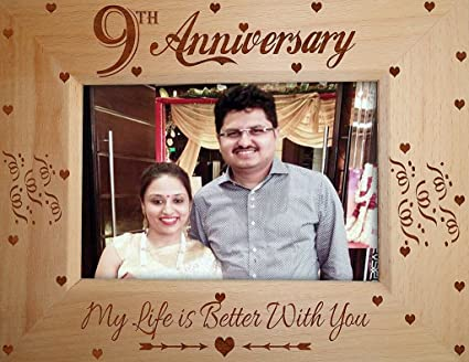 Buy Tied Ribbons 9th Wedding Anniversary Gifts Husband Wife Unique