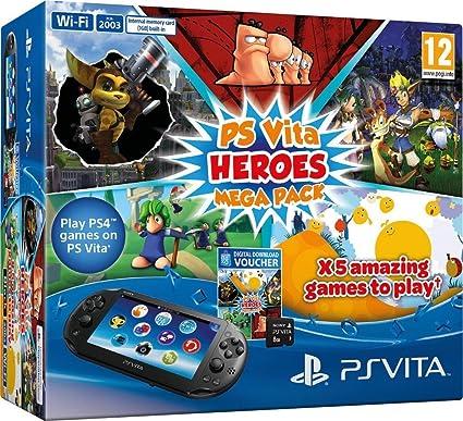 Sony Playstation Vita Slim Megapack Heroes 8gb Speicherkarte