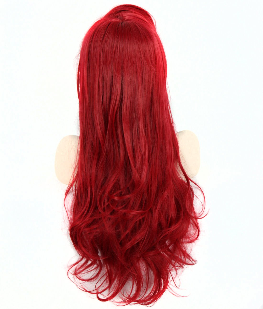 Amazon.com: Sexy Women Little Mermaid Princess Ariel Anime Cosplay Wigs Queen Beauty Peluca Perucas Long Wavy Red Natural Synthetic Hair: Beauty