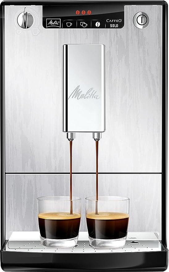Melitta Caffeo Solo E950-111 Schlanker Kaffeevollautomat mit ...