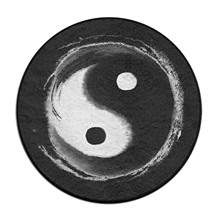 Amazon.com: reteone antideslizante Felpudo fresco Yin Yang ...