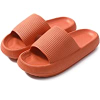 Universal Quick-Drying Thickened Non-Slip Sandals, Pillow Slides Slippers, Indoor Thick Platform Slippers, Ultra-Soft…