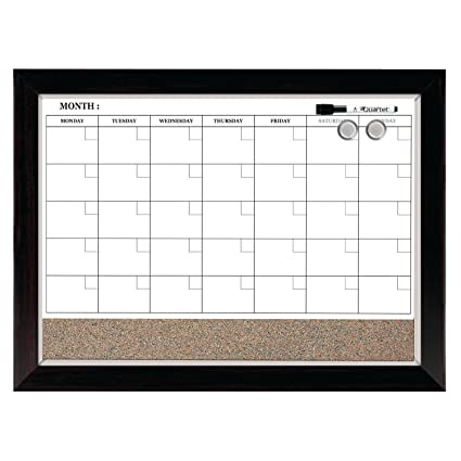 Magnetic strip to hold calendar
