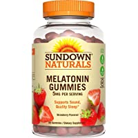 Sundown Naturals - Melatonina (5 mg, 60 gomas, 4 unidades)