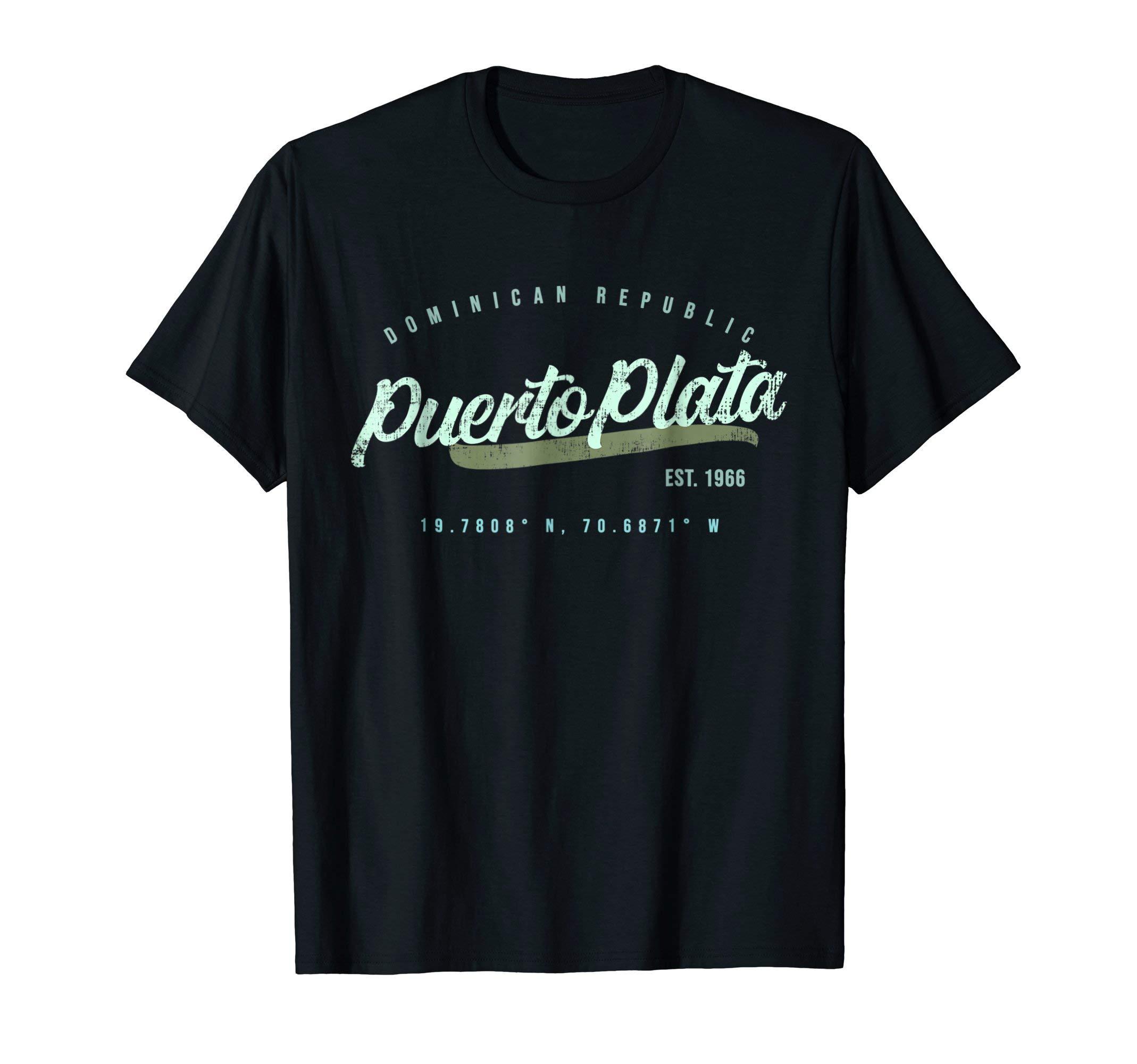 Puerto Plata Dominican Republic Travel Retro Shirt