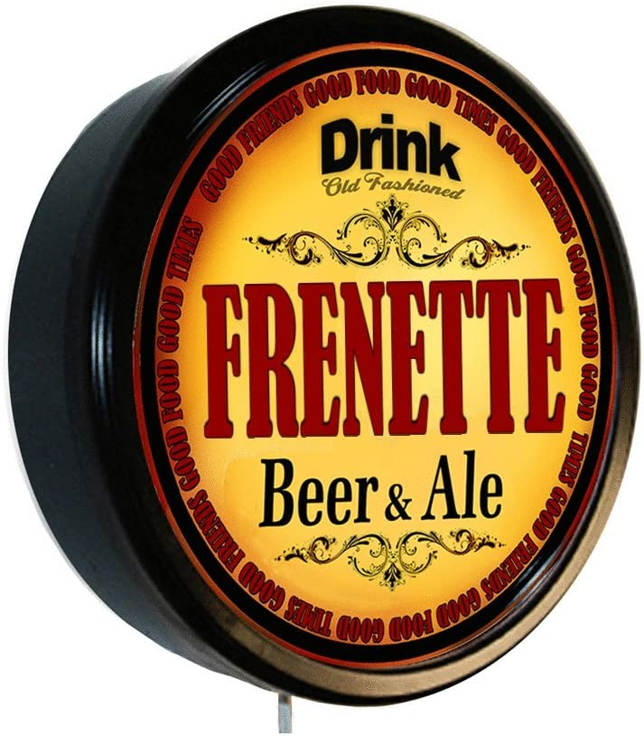 Frenette Beer And Ale Cerveza Lighted Wall Sign Home Kitchen