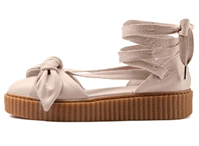 2c3448934f4a Image Unavailable. Image not available for. Color  PUMA Women s Fenty x Bow  Creeper Sandals
