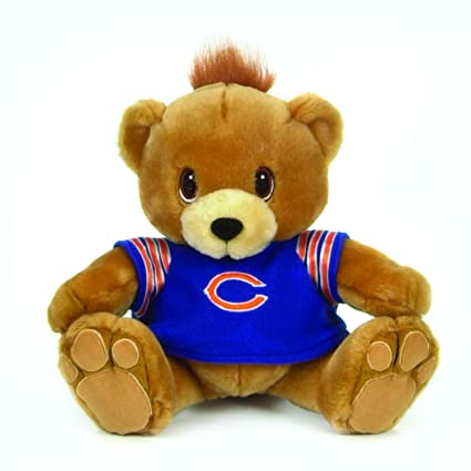 1567f2a2e74 Amazon.com  Chicago Bears 9- Inch Plush Mascot  Sports   Outdoors