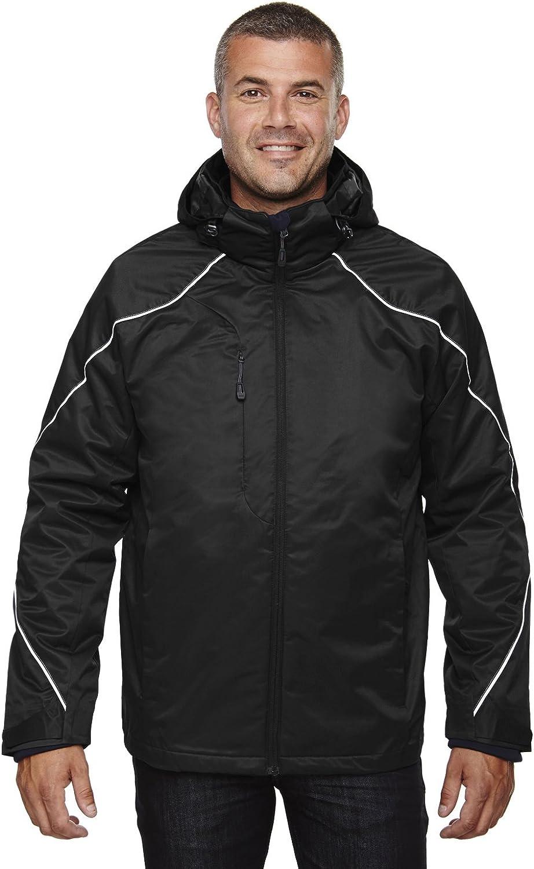 North End Mens 3-in-1 Jacket with Bonded Fleece Liner 88196
