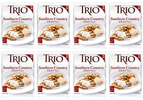 Amazon.com : Trio Gravy, Brown, 13.37-Ounce : Trio Gravy Mix : Grocery & Gourmet Food