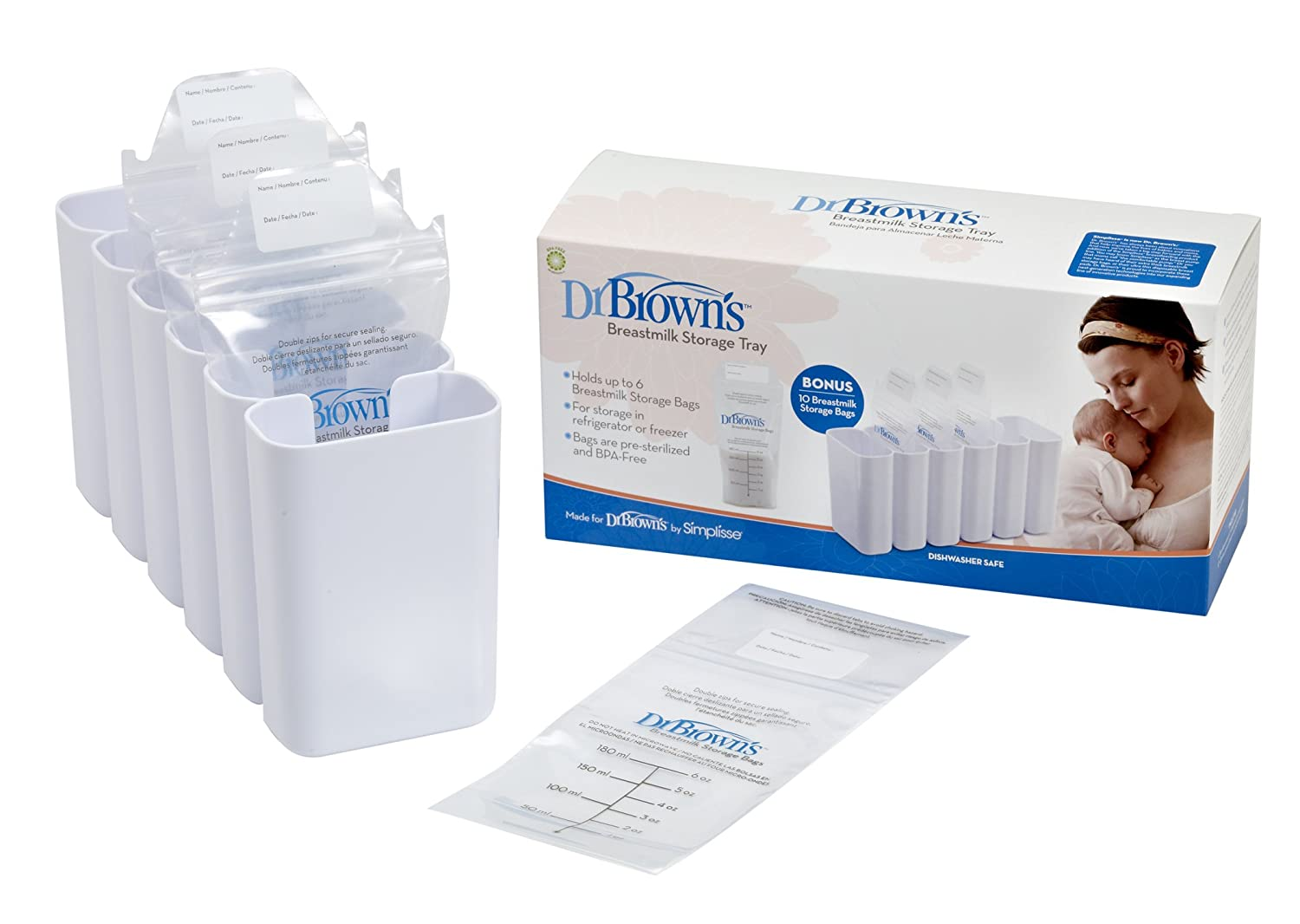 Amazon.com : Dr. Browns Breastmilk Storage Tray (Discontinued by Manufacturer) : Breast Milk Storage Trays : Baby