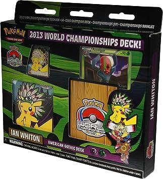 Pokemon World Championship Decks 2013 - Juego de Mesa Pokemon ...