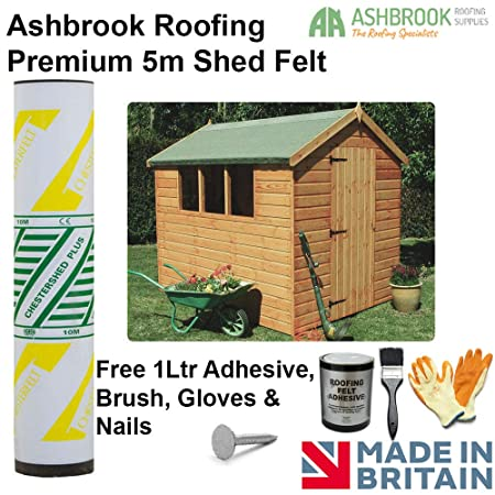 IKO Roofing Felt Perfect for Shed Kennel Animal Home Hutch 4 m x 1 m