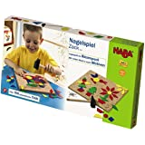HABA Geo Shape Tack Zap Large Imaginative Design 100 Piece Set (Made in Germany)