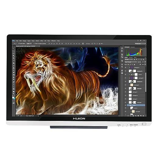 "4 opinioni per Huion GT-220 V2 (Argento) 21.5 ""Display a penna Monitor grafico IPS Interactive"