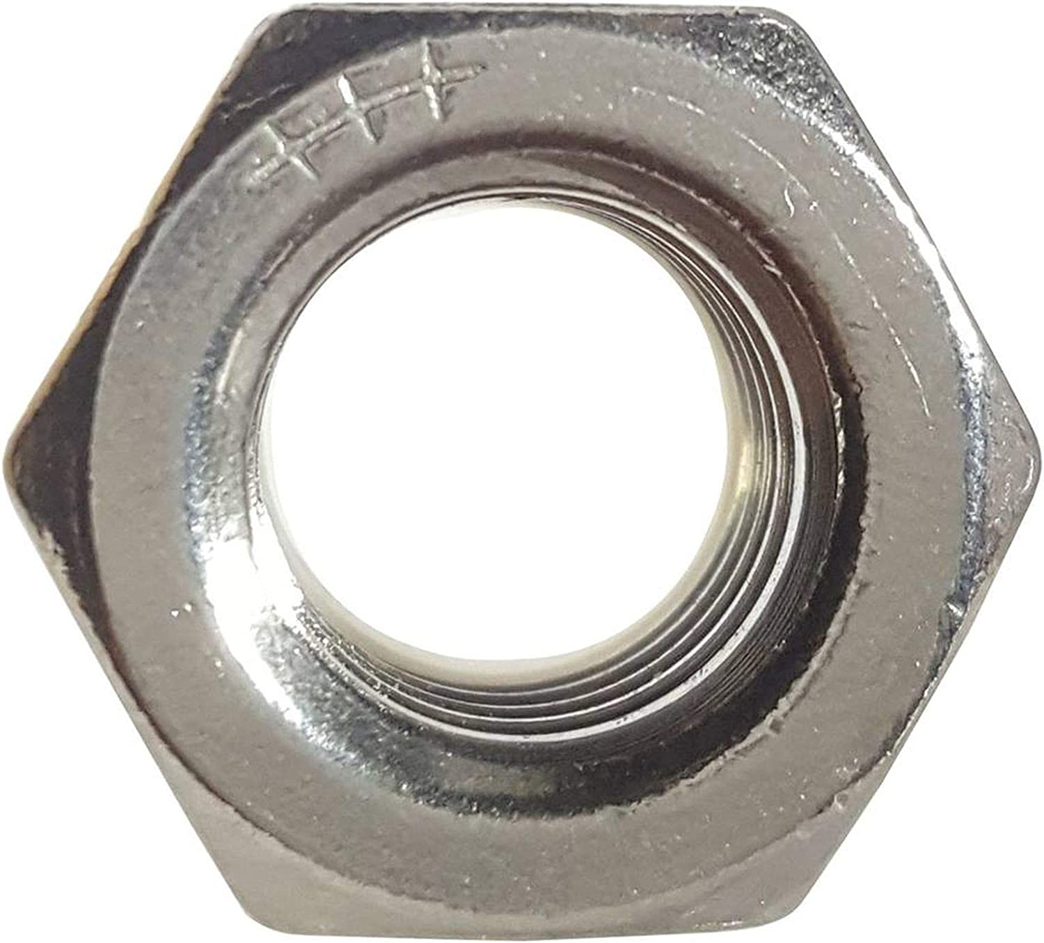 5//8-11 Nylon Lock Nut Stainless Steel 18-8 Elastic Insert Hex Nuts Qty 50
