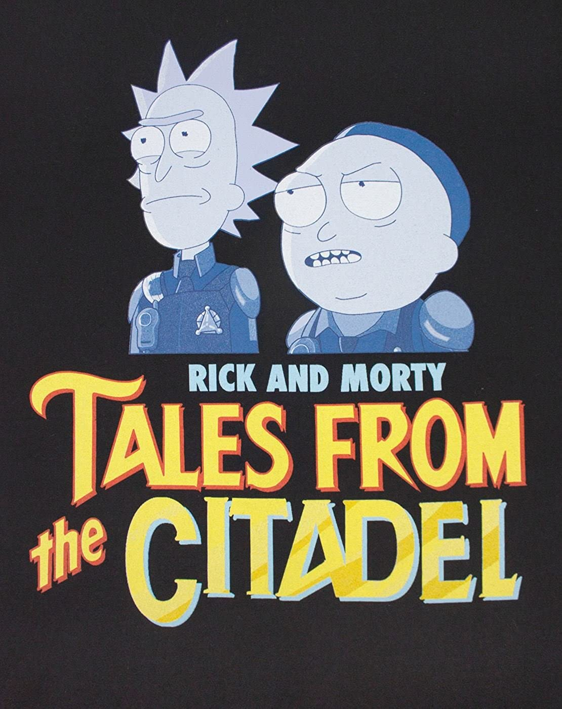 Rick and Morty Tales from The Citadel Mens T-Shirt: Amazon.es: Ropa y accesorios