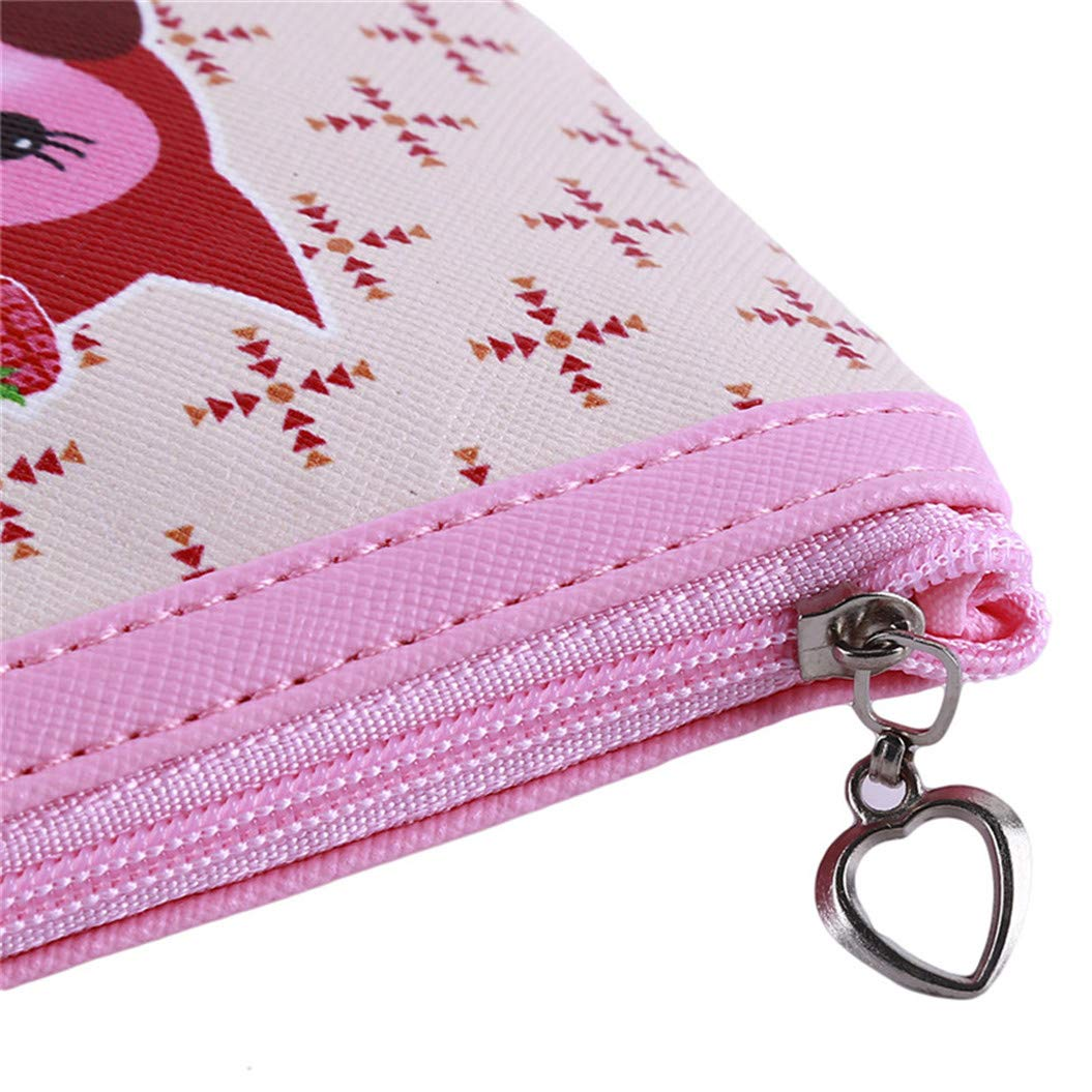 LZIYAN Cute Coin Purse Cartoon Owl Pattern Coin Purse Clutch Bag Portable Small Wallet With Zipper Storage Bag Creative Gift For Women,3# by LZIYAN (Image #6)