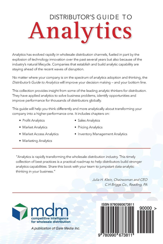 Distributor's Guide to Analytics: Thomas P  Gale, Jenel Stelton