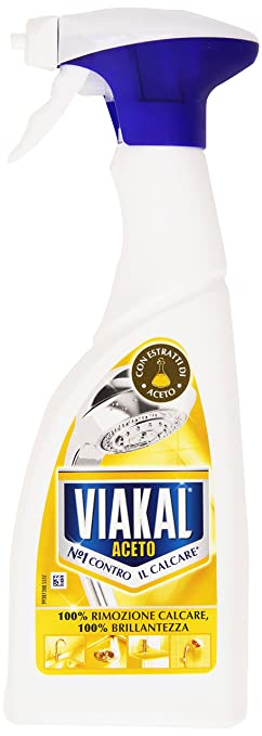 5 opinioni per Viakal Aceto Anticalcare Spray, 500 ml