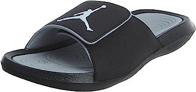 Nike Mens Jordan Hydro 6 Black Grey