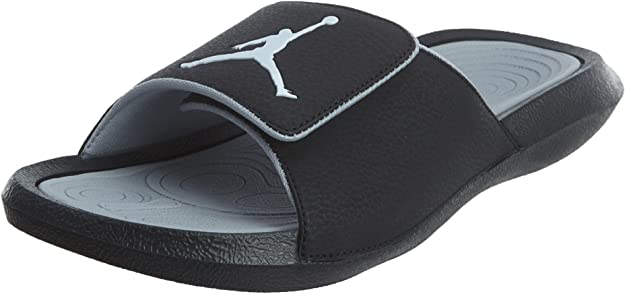 Nike Mens Jordan Hydro 6 Black Grey
