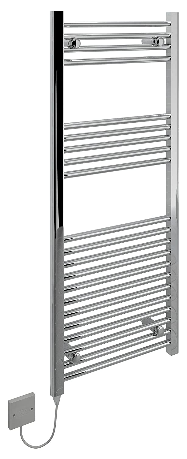Kudox Electric Towel Warmer - 400x700mm Flat Chrome 5060069429285