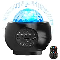 Star Night Light for Kids, LED Starry Projector with Galaxy Light Build-in Bluetooth Hi-Fi Stereo Music Speaker for Kid…