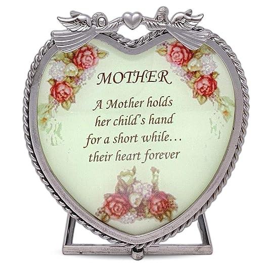 Mamá regalos - corazón de cristal vela soporte - una madre ...
